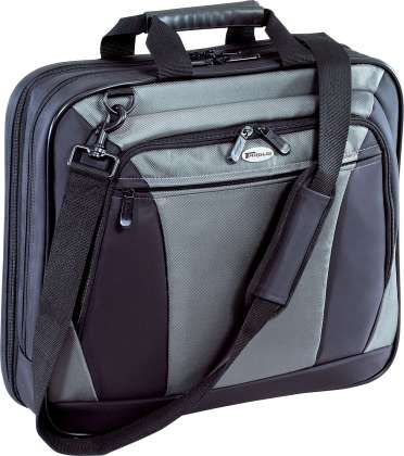 Targus CVR400 Citylite Black Grey Nylon Notebook Case 092636210489 - Image of item from www.ichq.com