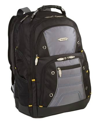 Targus TSB239US Black Drifter Ii Laptop Backpack 17in 092636261252 - Image of item from www.ichq.com