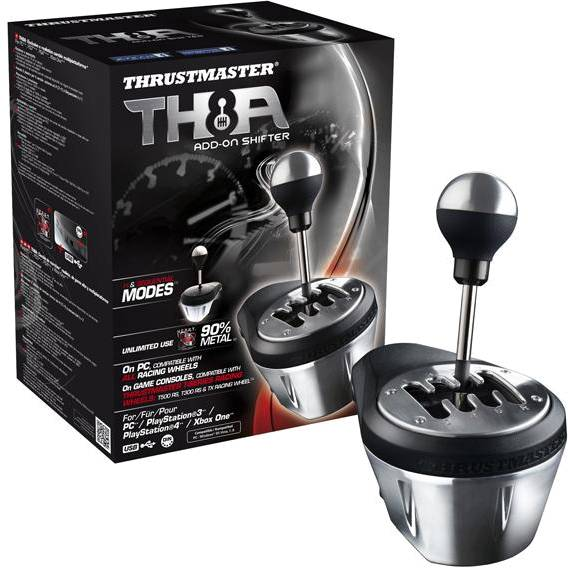 Thrustmaster 4060059 - Th8a Add-on Gearbox Shifter For Pc Ps3 Ps4 And Xbox One - click for details.